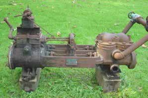 Ship-2-Shore prevent rusting on oil well pump in museum